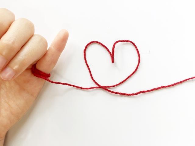 小指に繋がっている運命の赤い糸は、ツインソウルの証。